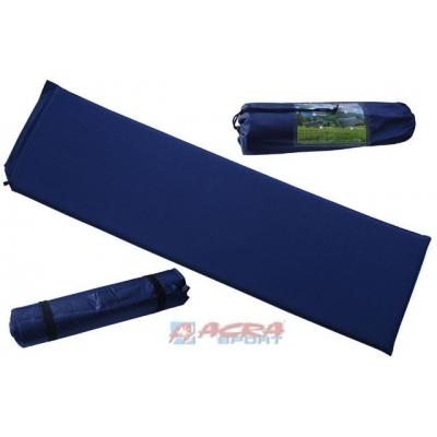 ACRA Karimatka samonafukovací modrá 186 x 53 x 3 cm