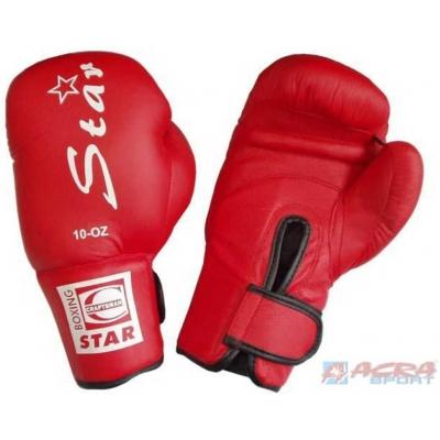 ACRA Rukavice boxerské různé velikosti PU kůže XS-XL 2 barvy