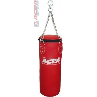 ACRA Pytel boxovací závěsný 35x180cm 58-62kg Brother červený
