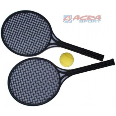ACRA Tenis soft sada černá