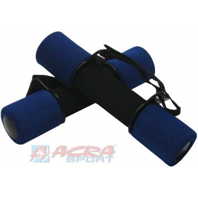 ACRA Činky molitanové pásek 2 x 1 kg