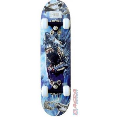 ACRA Skateboard dětský s Alu podvozkem