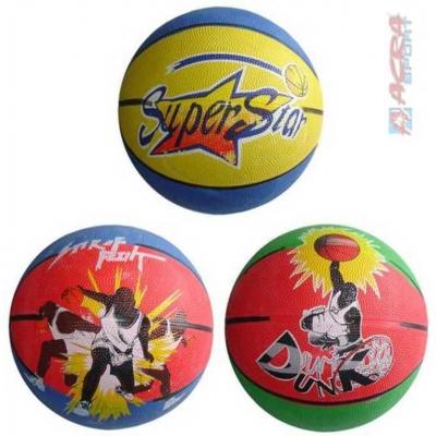 ACRA Míč basketbalový s potiskem na košíkovou vel. 5