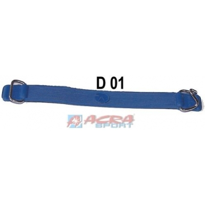 ACRA Pásek CM 3150 gumový na upínání Na lyže Modrý