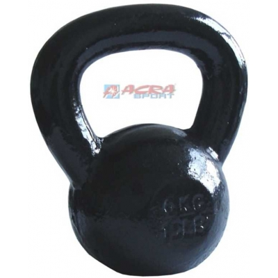 ACRA Činka jednoruční Kettlebell kovová 8 kg