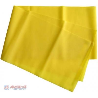 ACRA Guma Na aerobic Posilovací Žlutá SLABÁ