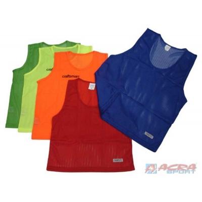 ACRA Dresy rozlišovací S M L jednobarevné 5 barev
