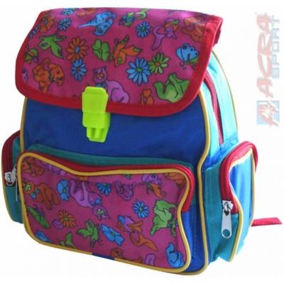 ACRA Batoh dětský barevný pro malé děti