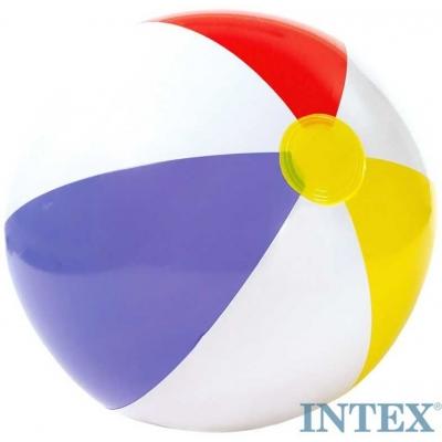 INTEX Míč nafukovací plážový trojbarevný GLOSSY 51 cm