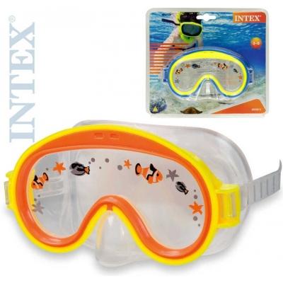 INTEX Brýle potápěčské dětské 3 - 10 let na potápění do vody 2 barvy