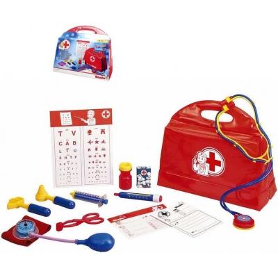 SIMBA Doktorský kufřík plastový set taška s tlakoměrem a doplňky