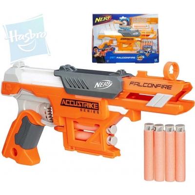 HASBRO NERF Rlite Accustrike FalconFire set pistole + 6 šipek s hrotem plast