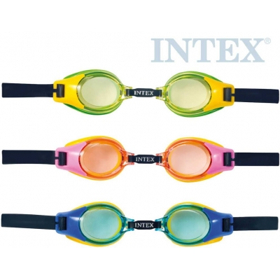 INTEX Brýle plavecké dětské junior do vody 3 barvy