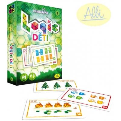 ALBI HRA Mozkovna Logic 3 pro děti karetní hádanky interaktivní
