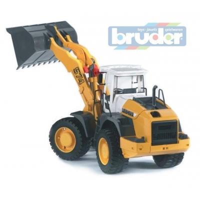 BRUDER 02430 (2430) Čelní nakladač LIEBHERR L574