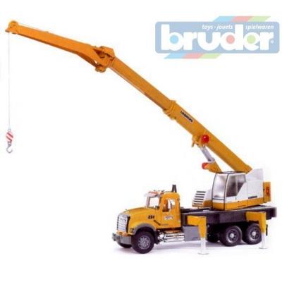 BRUDER 02818 (2818) Auto MACK GRANIT autojeřáb