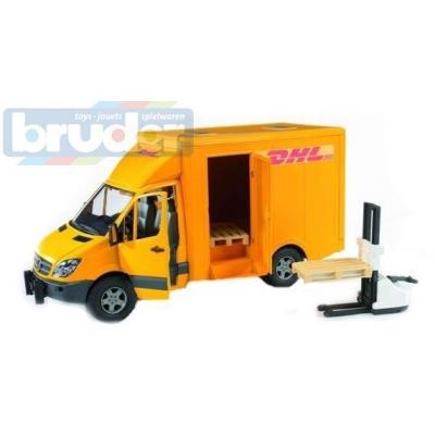 BRUDER 02534 (2534) Auto MBS Přeprava DHL
