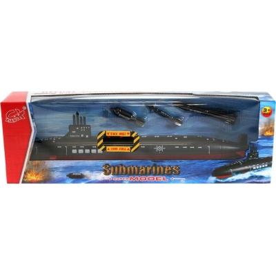 Ponorka 40cm na baterie set se 3 torpédy se Zvukem