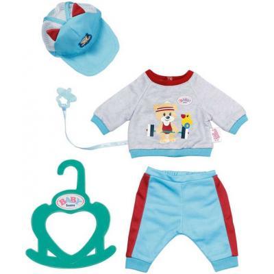 ZAPF CREATION Baby Born sportovní obleček klučičí pro panenku miminko