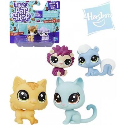 HASBRO LPS Littlest Pet Shop zvířátko set 2ks dekorovací 3.serie různé druhy
