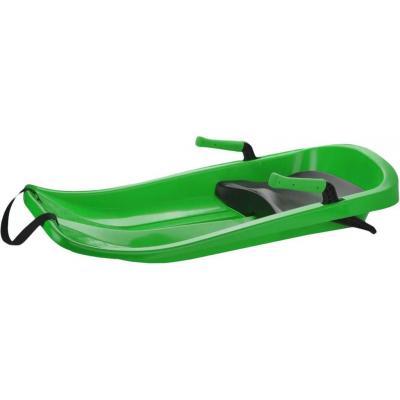 ACRA Boby Plastkon FLASH se 2 brzdami se sedátkem Zelené