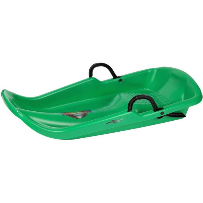 ACRA Boby Plastkon TWISTER se 2 brzdami plastové Zelené