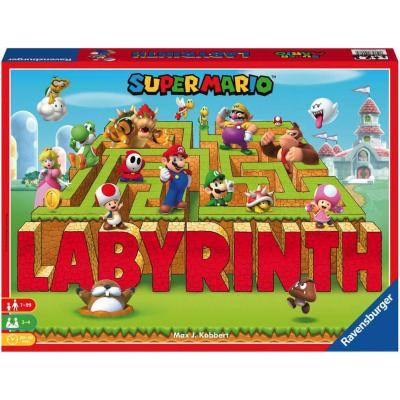 RAVENSBURGER Hra Labyrinth Super Mario *SPOLEČENSKÉ HRY*