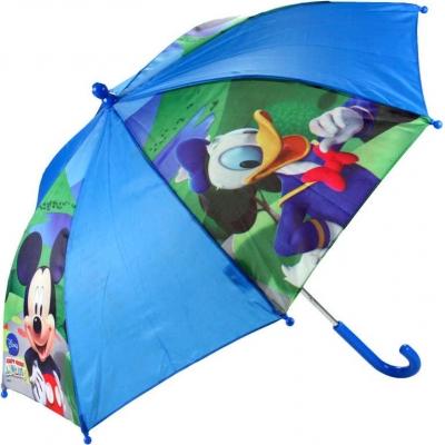 Deštník dětský Mickey Mouse Kačer Donald 75cm Disney modrý mechanický