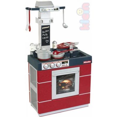 KLEIN Kuchyňka dětská Miele kompakt set s nádobím a doplňky plast