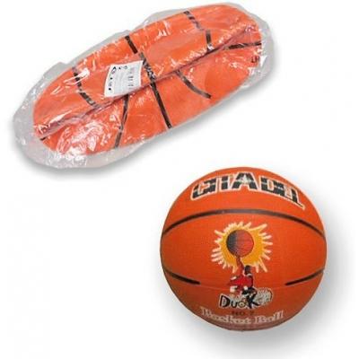 Míč basketbalový 31cm oranžový Jet 5 s potiskem na košíkovou v sáčku