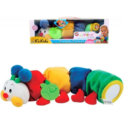 K´S KIDS Stonožka BABY s kousátkem 48 cm Pro miminko