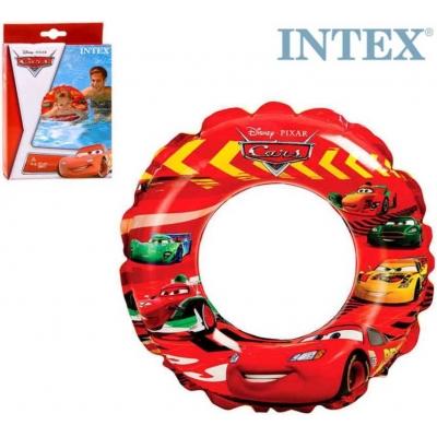 INTEX Kruh nafukovací auta CARS 51cm plavací kolo do vody