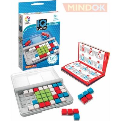 MINDOK HRA Smart IQ Fokus hlavolamy pro 1 hráče