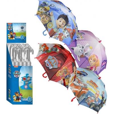 Deštník dětský Tlapková Patrola (Paw Patrol) 74cm manuální otevírání 4 druhy