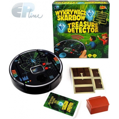 EP line HRA Cool Games Detector hledání pokladu na baterie Světlo v krabici