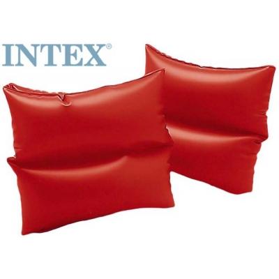 INTEX Rukávky 19 x 19cm nafukovací 1 pár červené do vody