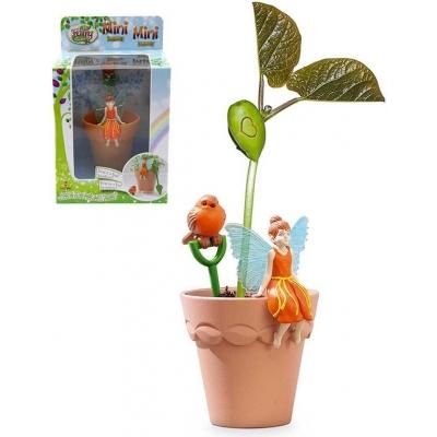 My Fair Garden mini květináček Hope set 2 figurky se semínky a doplňky plast