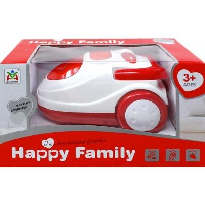 Vysavač dětský na baterie 20cm Happy Family Světlo Zvuk plast