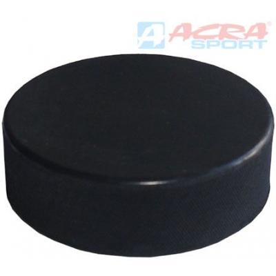 ACRA Hokejový puk malý junior senior 6cm bez potisku