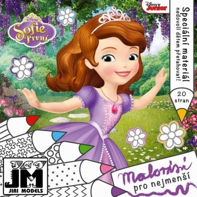 JIRI MODELS Malování pro nejmenší Sofie První Disney