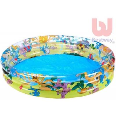 BESTWAY Bazén 3 komorový 122x25 cm 51009