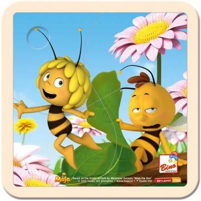 BINO DŘEVO Puzzle dětské Včelka Mája * DŘEVĚNÉ HRAČKY *