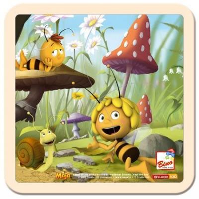 BINO DŘEVO Puzzle dětské Včelka Mája 2 * DŘEVĚNÉ HRAČKY *