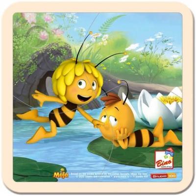 BINO DŘEVO Puzzle dětské Včelka Mája 3 * DŘEVĚNÉ HRAČKY *