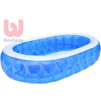 BESTWAY Bazén oválný elliptical transparentní 229 x 152 x 51cm