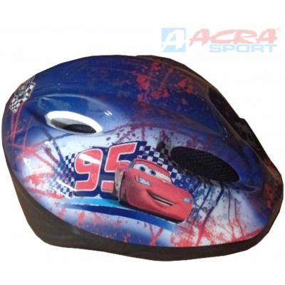 ACRA Dětská cyklistická helma Brother CSH064 Auta (Cars)