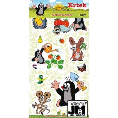 JIRI MODELS 2D Samolepky na zeď Krtek (Krteček)
