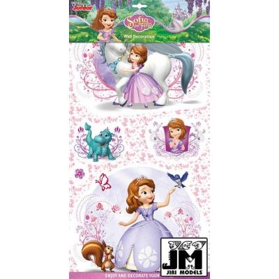 JIRI MODELS 2D Samolepky na zeď Disney Sofie První