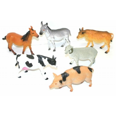 Zvířata domácí - jednotlivá zvířata 1ks (farma)