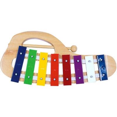 BINO Xylofon kovový obloukový KOV +